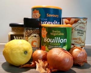 Store-cupboard ingredients