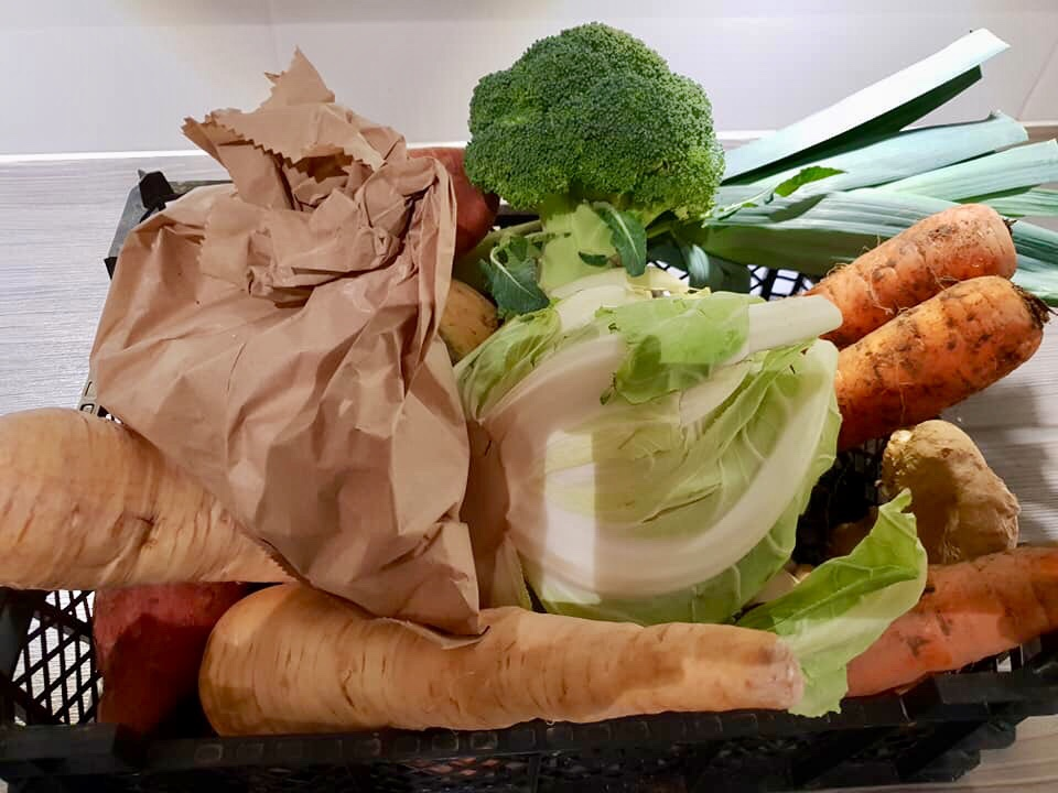 A selection of winter veg